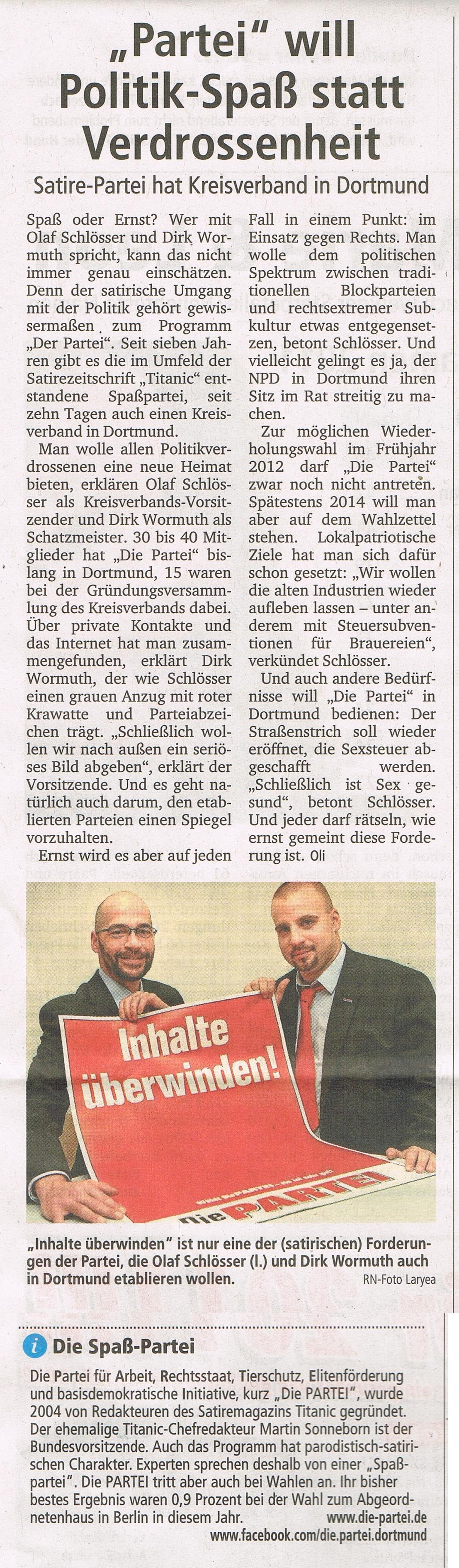 Artikel:Ruhr-Nachrichten