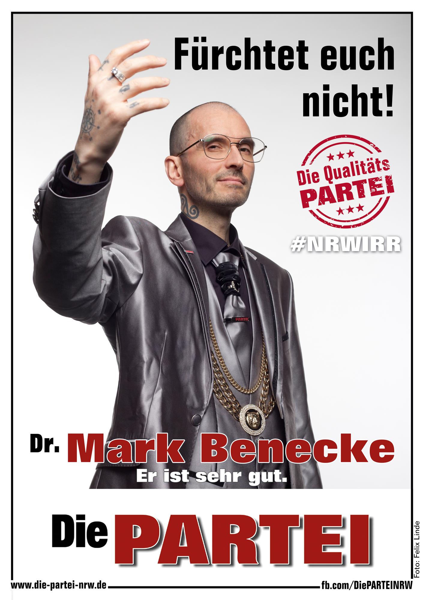 Dr Mark Benecke Die Partei