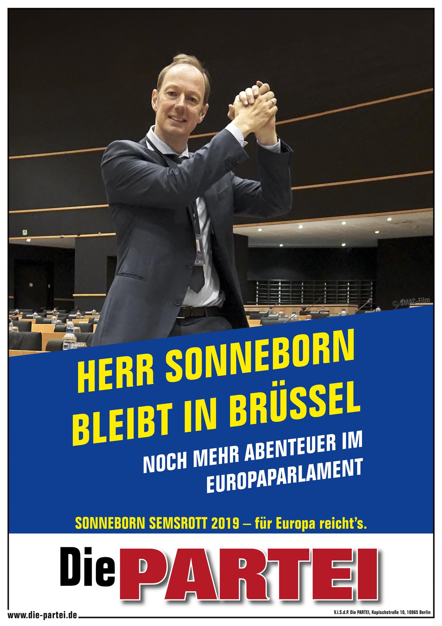 Partei Liebe Europawahl