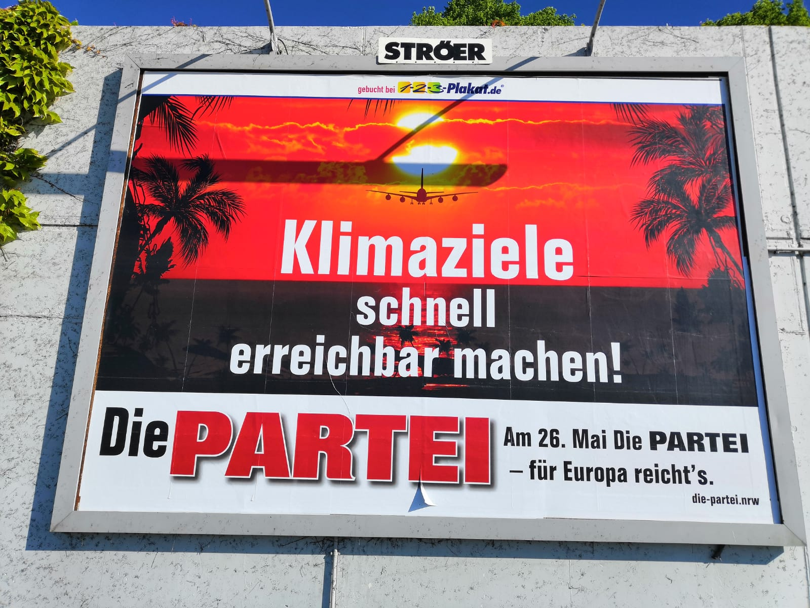 Großplakat in Dortmund