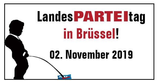 "Landes<span class=""xb"">PARTEI</span>tag 2019 in Brüssel"
