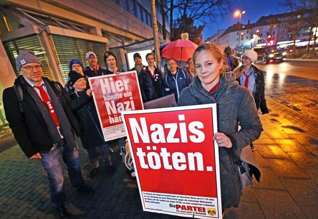 """""""Nazis töten."""" bleibt straffrei"""