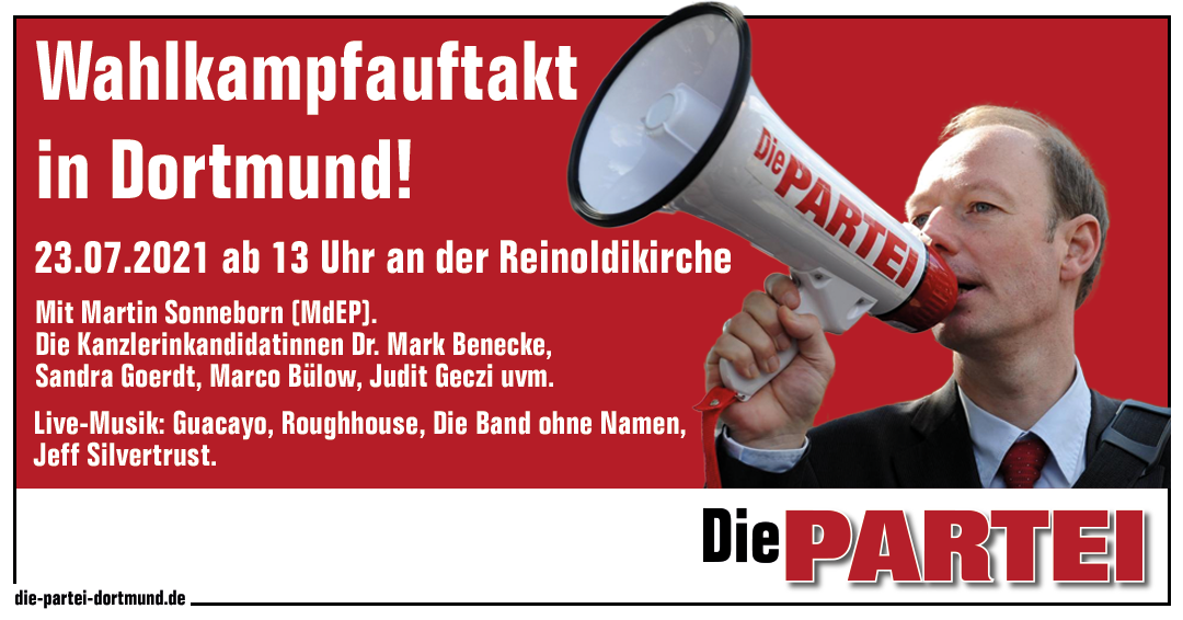 Wahlkampfauftakt in Dortmund!